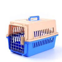 Wholesale Plastic Dog Carrier Pet Cage for Travel