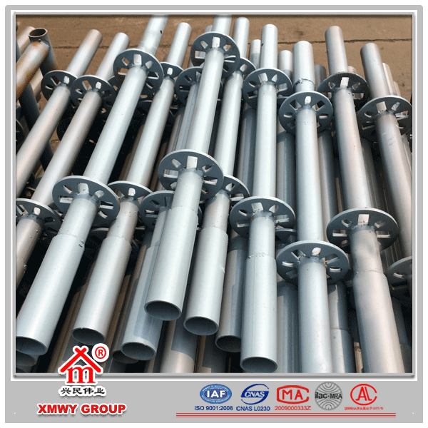 China best-service ringlock scaffolding brace with pin for sale