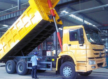 300/336/375HP Sinotruck 8*4 HOWO Dump Truck for sale