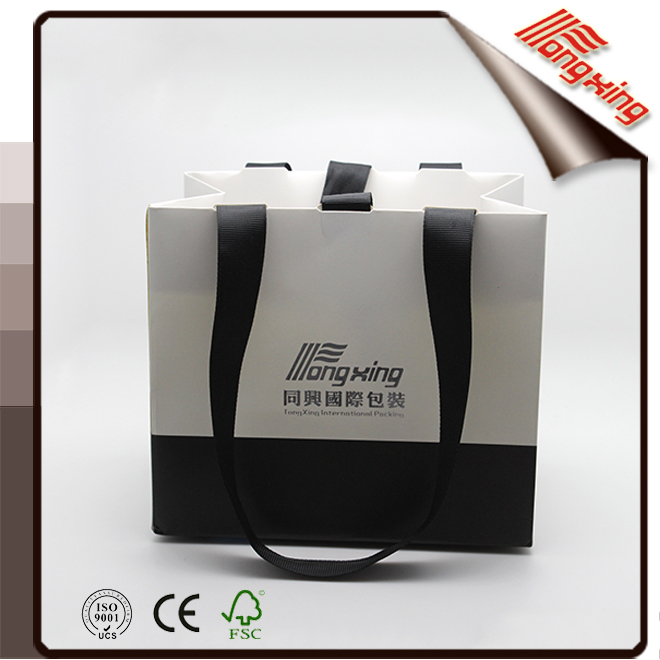 2016 Custom Logo Printed Industry Paper Bag