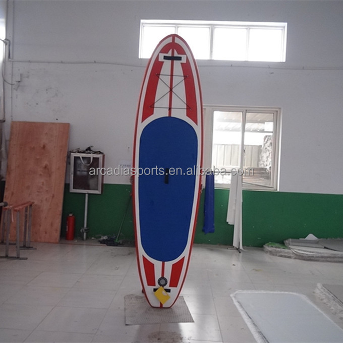 Colorful EVA Inflatable SUP Surfboard With Fins Windsurf Paddle Boards