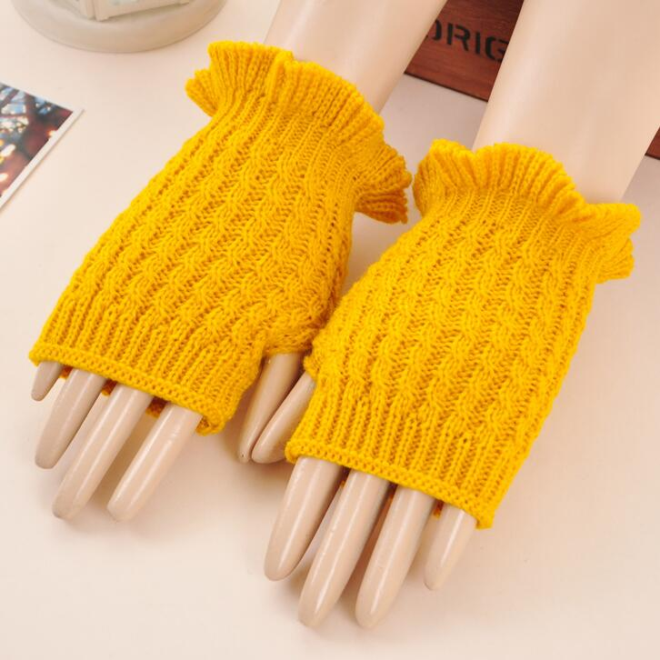 touch screen nylon knitted gloves knitted gloves ladies gardening gloves