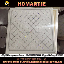PVC Ceiling/PVC Ceiling Panel/PVC Ceiling Tiles,60*60 PVC Gypsum Board Bathroom Ceiling