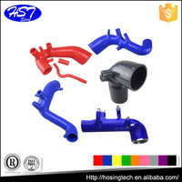 flexible universal and customized car/truck/bus engine hose, silicone radiator/cooling/turbo/coolant/intercooler system hose