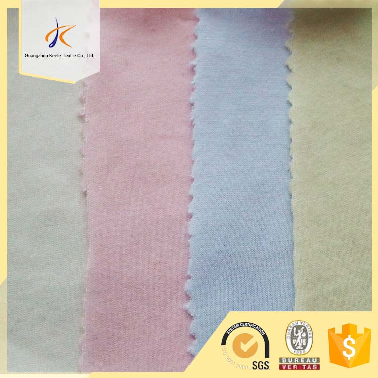 spring hot selling jersey fabric combed super soft 100% cotton baby blanket fabric