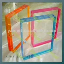 2012 Best sellers popular acrylic photo frame