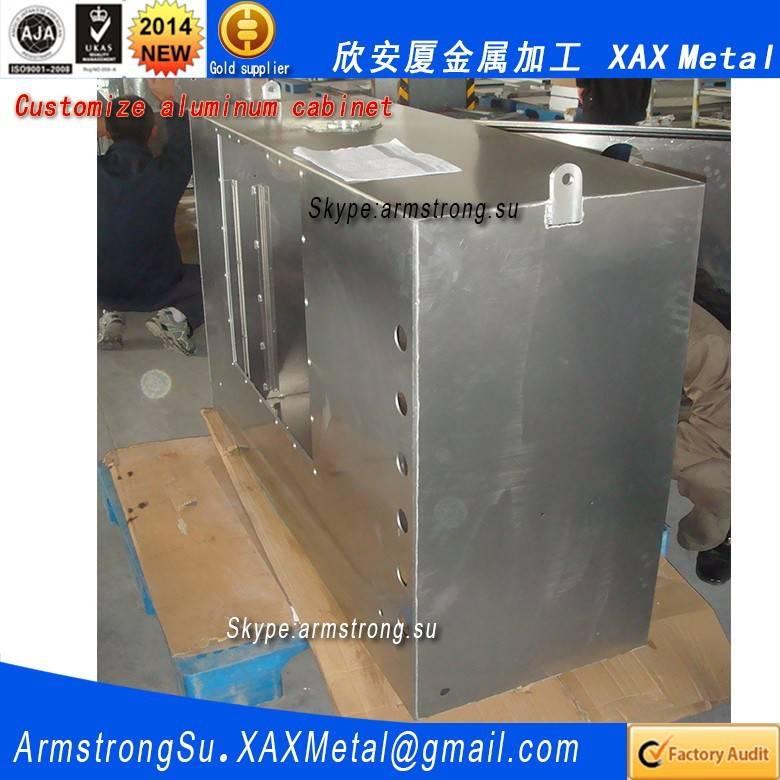 XAX1002Alu OEM ODM customized smart home automation system aluminum panel housing