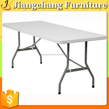6ft White Plastic Outdoor Folding Rectangle Tables Wholesale