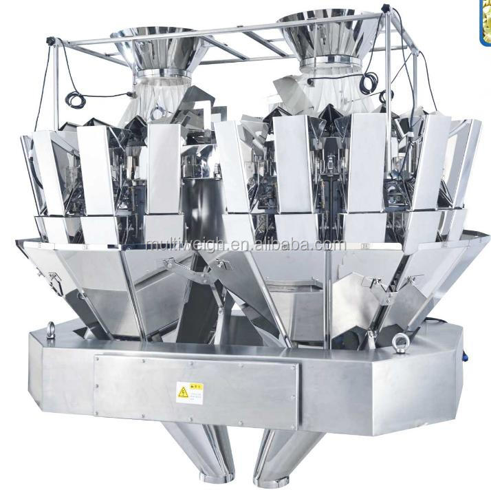 Automatic 20 Head Combination of Scale for Food Packaging Line