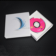 Custom Luxury Unique CD DVD Packaging Cardboard Gift Box With Insert