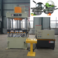 Hydraulic press deep drawing aluminium cookware machinery press manufacture 200ton