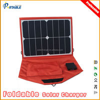 dual output sunpower solar module for 12V car battery laptop and smart phones