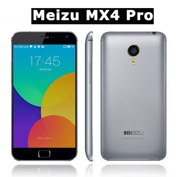 "Original Meizu MX4 Pro 4G LTE Cell Phones Exynos 5430 Octa Core 20.7MP Camera 5.5"" 2560x1536 OTG NFC GPS HiFi WCDMA Flyme 4"