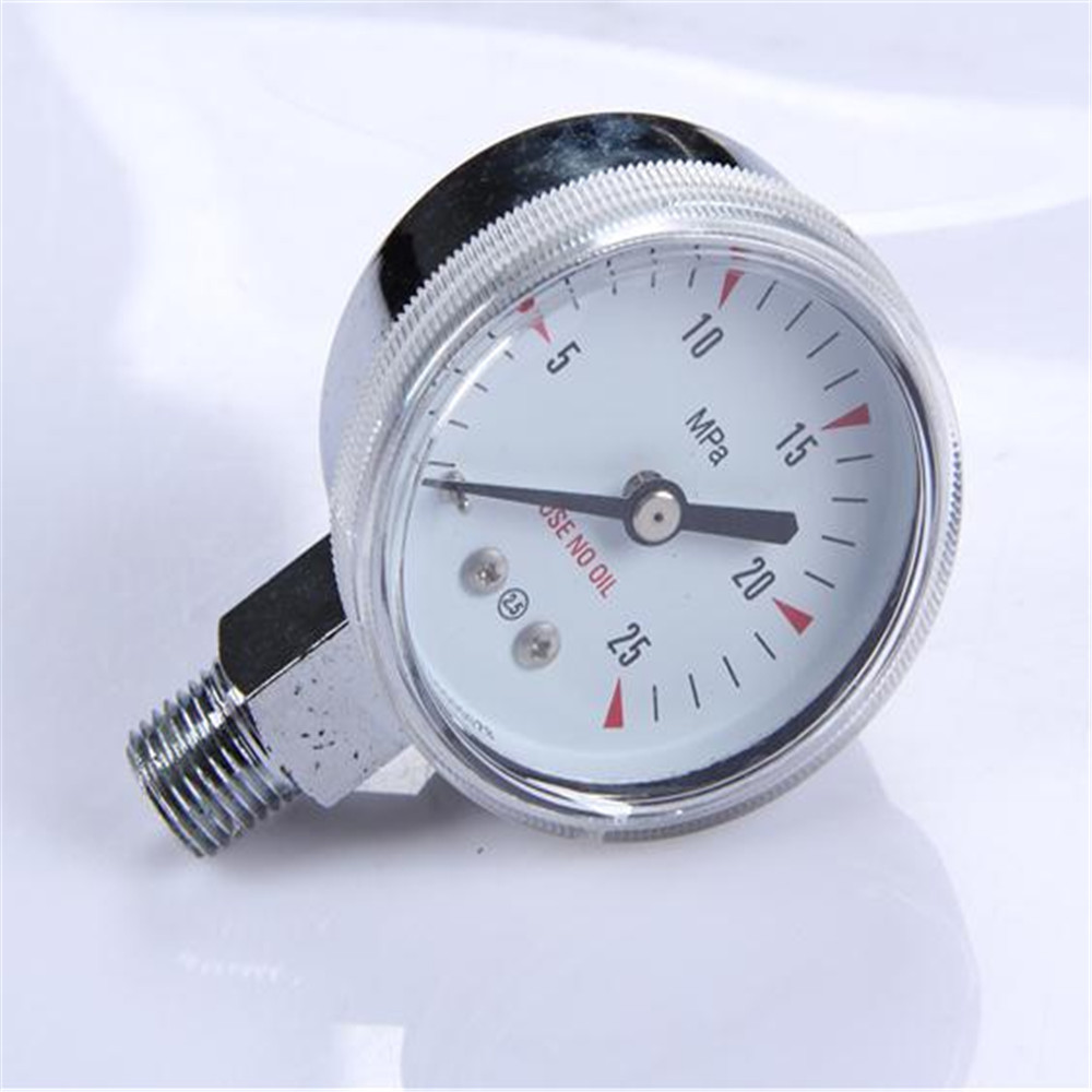 Durable Light Weight Easy To Read Clear Compound Natural Gas Pressure Gauge