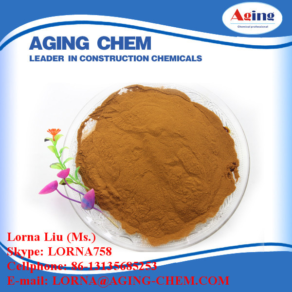 lignin sulfonate water reducer CALCIUM LIGNOSULFONATE hot sell product