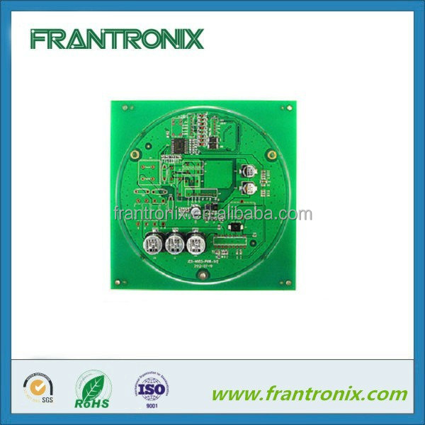 Electronic Customized HASL FR4 green solder mask pcb design