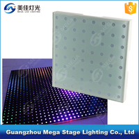 New2016 12w power pixels stage light rgb 3in1sensitive led dance floor tiles