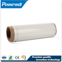 Electrical insulating colored rigid transparent metalized pet film