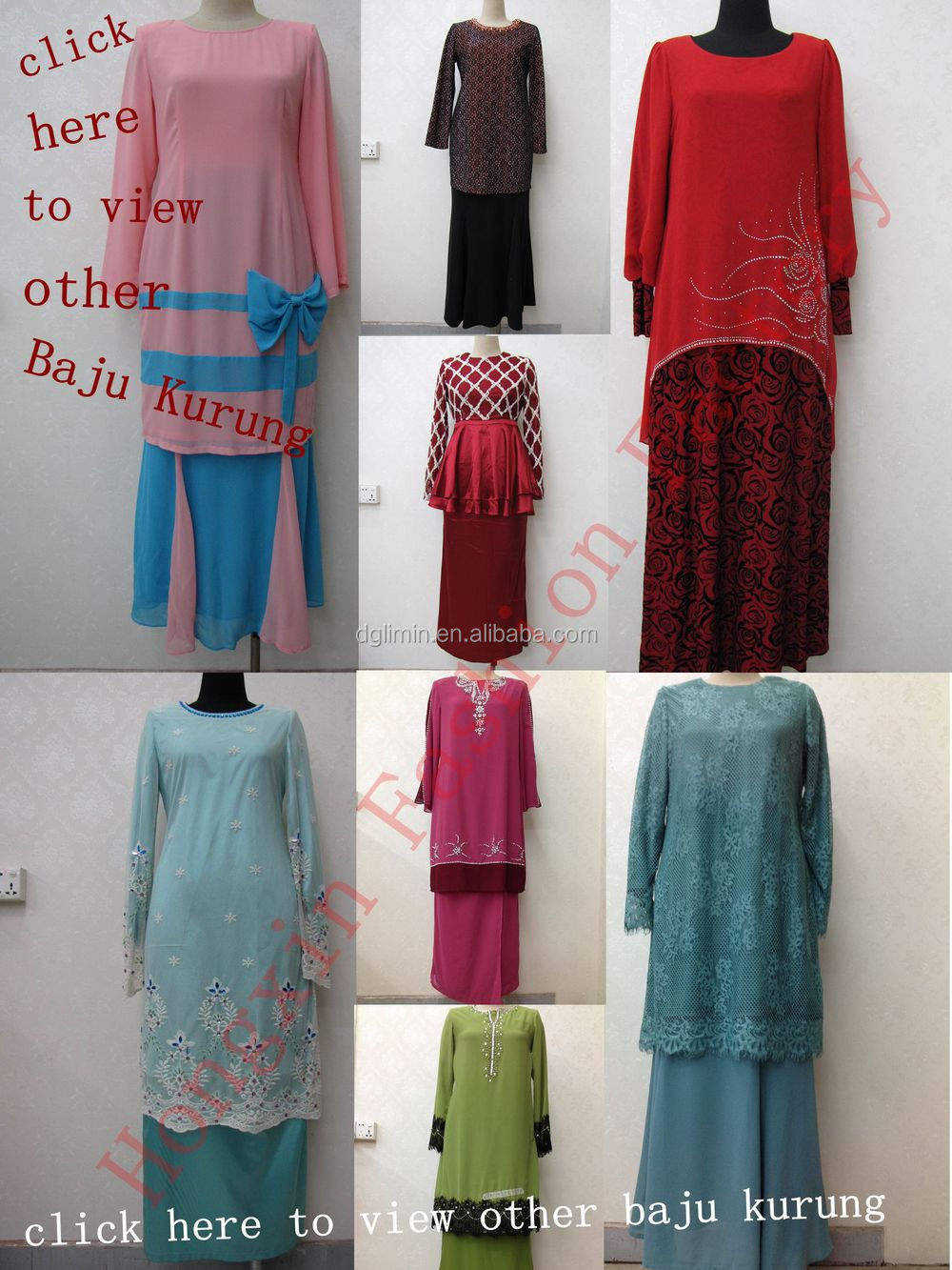 Baju Melayu For Women Wholesalers Abaya Baju Knrung Islamic Ethnic Clothing