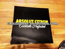 Bar mat pvc met log