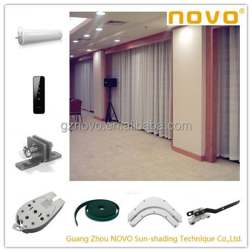 NOVO low price vertical blinds parts/venentian blind &tubular motors for office or home decor