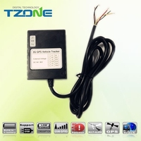 Internal GSM and GPS antenna supporting engine cut 3g car tracker