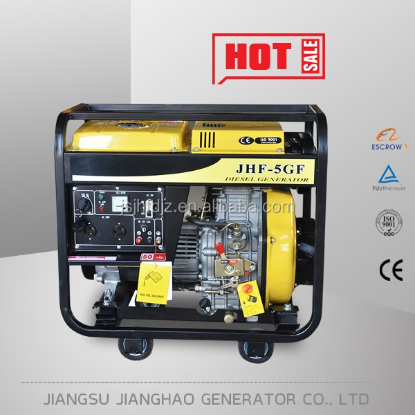 Small 5kw silent type 4 stroke diesel power generator wholesale price