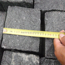Factory direct black basalt pebbles pavers wholesale