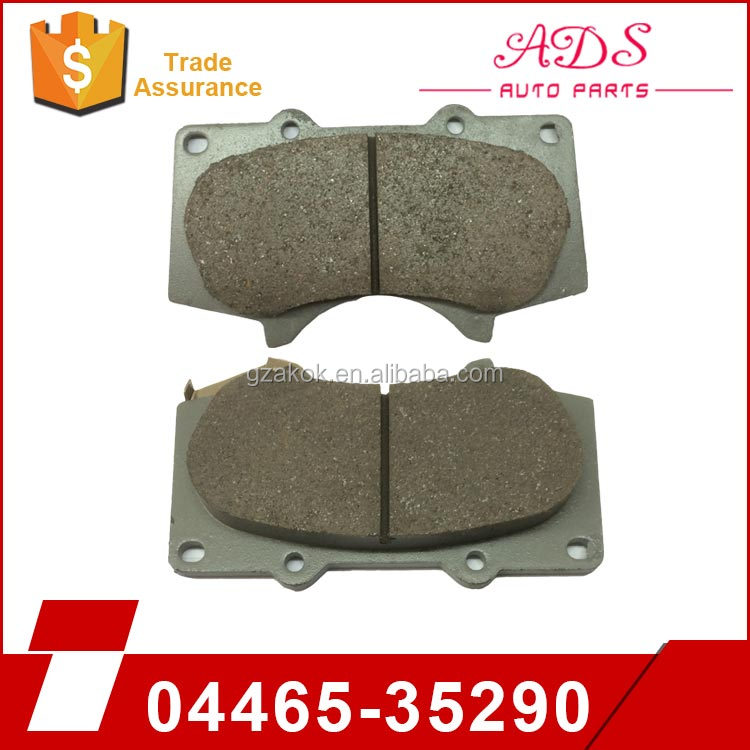 hot sale brake pads front for toyota cars LAND CRUISER4000/2700 OEM:04465-35290
