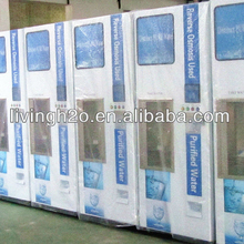 Purified Water Kiosk with 400-3000GPD production capacity