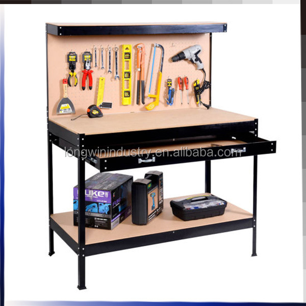 Multi Purpose Workbench With Tool Cabinet Garage Storage