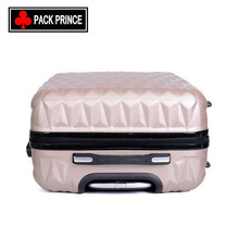 New design colorful wholesale ABS carry case luggage trolley