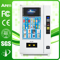 2016 competitive combom touch screen medicine vending machine with remote control