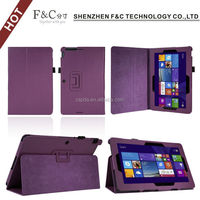 High qualtiy pu leather cover case for ASUS Transformer Book T200