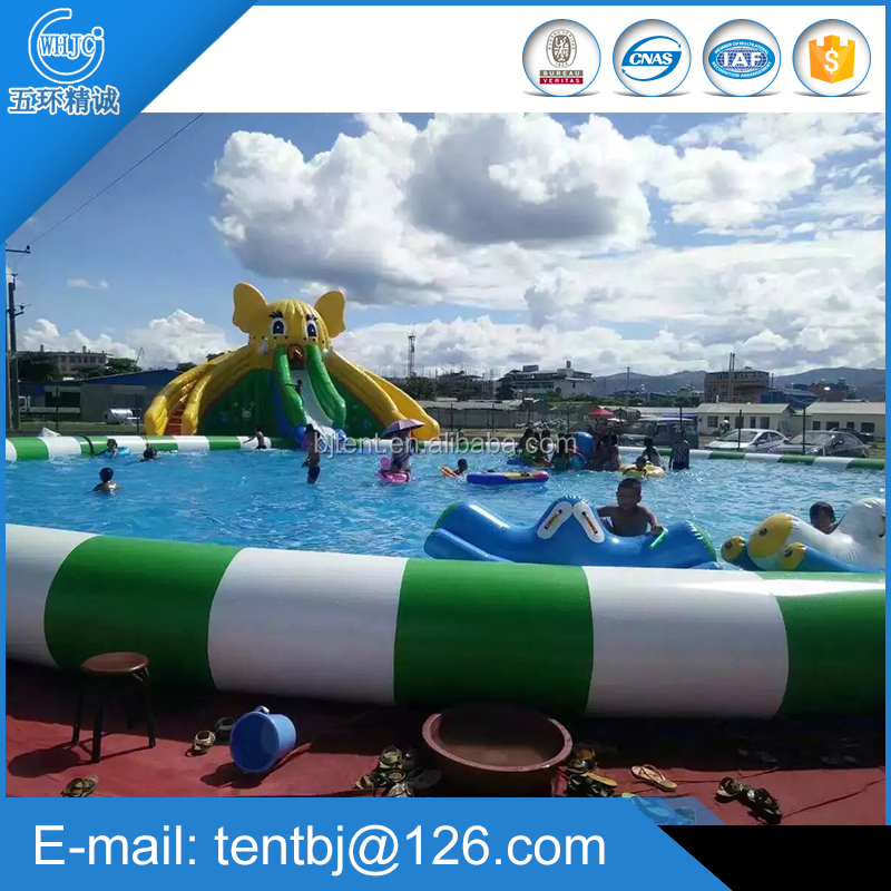 PVC summer giant inflatable spa pool for adults and kids