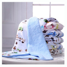 ZOGIFT wholesale cheap berber Fleece baby blanket , design baby swaddle blanket custom print blanket