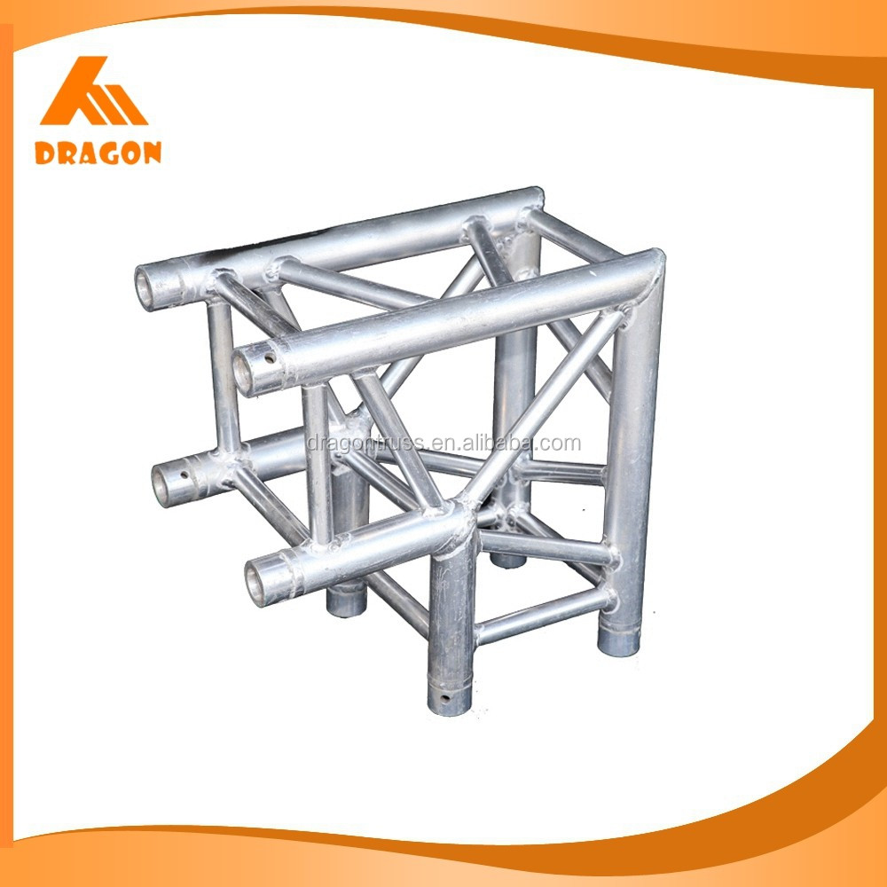 Top quality aluminum truss trade show booth truss corner