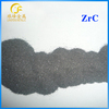 zirconium carbide ZrC 99.5% min powder with high melting point used as refractory coatings in nuclear reactors