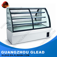 2016 China hight quality commercial bakery cake display chiller