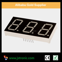 0.36 0.39 0.56 0.8 inch 3 digit 7 segment led display all color available