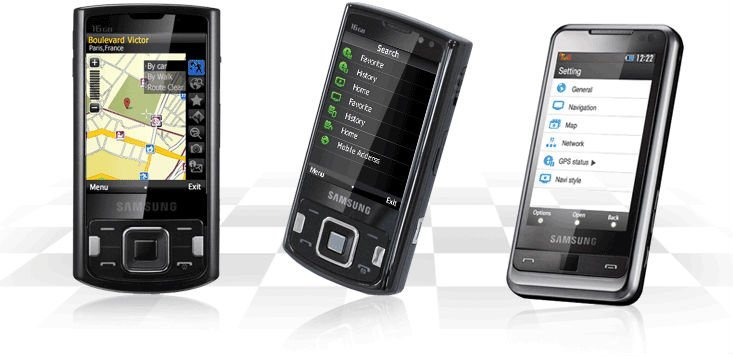 GPS Navigation Software for Mobile Phone/Smart Phone /PDA..