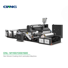 ONL-M1100-1800 Fully automatic Non Woven Coating And Lamination Machine