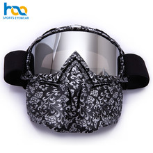 Full Mask Helmet Compatible Motorcycle Mx Goggles Motocross Goggles