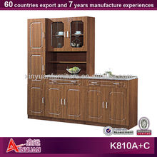 MDF new design particle board kitchen cabinets