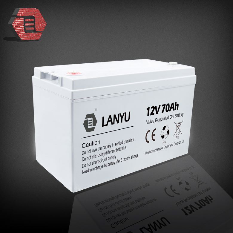 Deep cycle gel battery 12v 70ah electric toy bike CE ISO QS LYGEAL12V70A1215