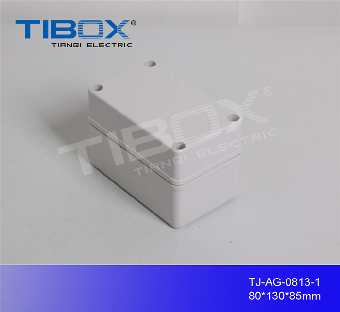 square small outdoor waterproof junction box from TIBOX