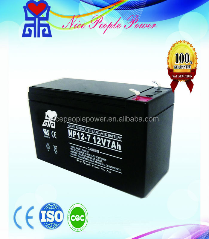 scooter ups battery price 6v 12v 24v 7ah sealed AGM lead-acid maintenace free ups battery