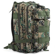 Large capacity waterproof camouflage bag Camping army backpack