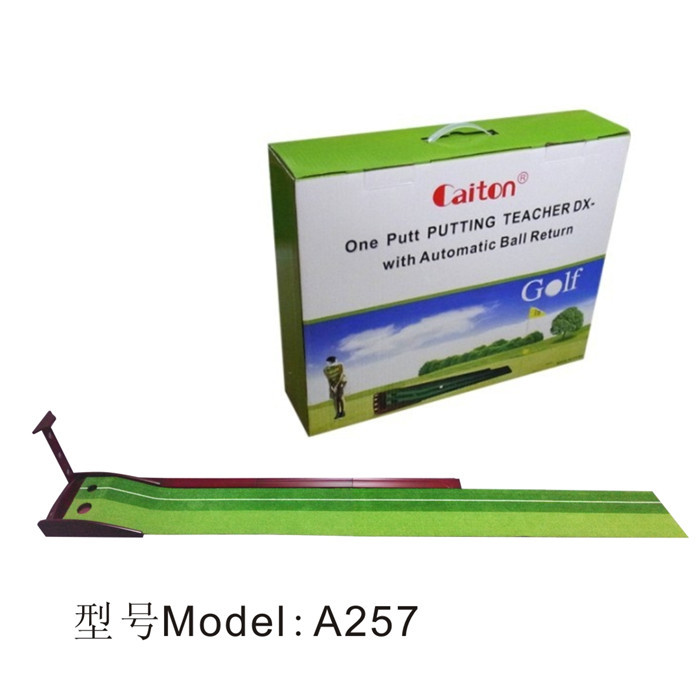 A251 custom golf putting trainer,golf putting training aids,golf putting mirror
