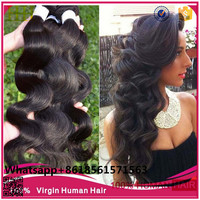Top Grade 100% Natural Raw Brazilian Hair Bundles/Beauty Body Wave Unprocessed Brazilian Virgin Hair For Sale